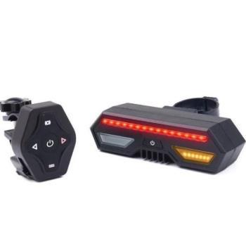 無線搖控自行車尾燈 LED方向燈