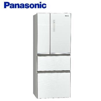 Panasonic國際牌 500L 一級能效 四門變頻冰箱(翡翠白) NR-D500NHGS-W -庫(Y)