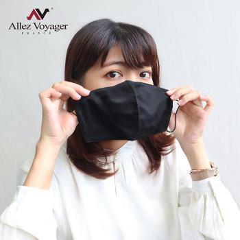 奧莉薇閣 立體布口罩 口罩套 防潑水 透氣 3用銀纖維抗菌防護 水洗重複使用/成人款-5入