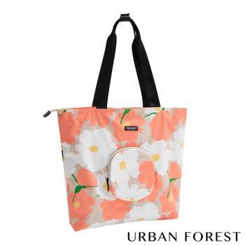 URBAN FOREST都市之森 樹-摺疊托特包/側肩包 虞美人