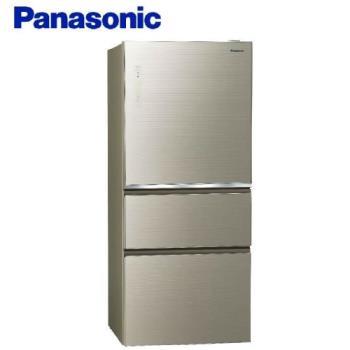 Panasonic國際牌 610L 一級能效 三門變頻冰箱(翡翠金) NR-C610NHGS-N -庫(Y)