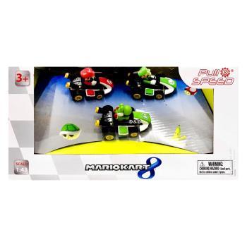 任天堂 超級瑪利歐 MK 8迴力車3入組