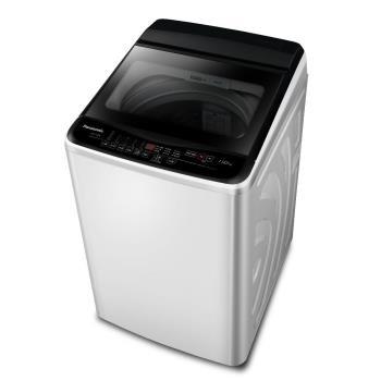 買就送時尚運動提袋★Panasonic國際牌11KG直立式洗衣機(象牙白) NA-110EB-W-庫(Y)