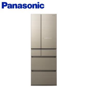 Panasonic國際牌 500公升 日本製 六門變頻冰箱(翡翠金) NR-F505HX-N1-庫