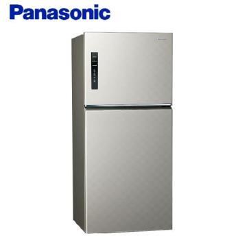 送多功能雙面砧板+陶瓷刀★Panasonic國際牌 650L 一級能效 雙門變頻冰箱(星耀金) NR-B659TV-S1 -庫(G)