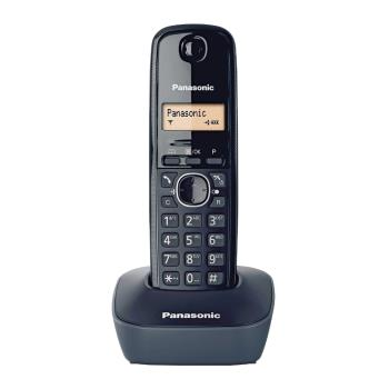 公司貨 Panasonic 國際牌數位DECT 無線電話 KX-TG1611 TW 黑