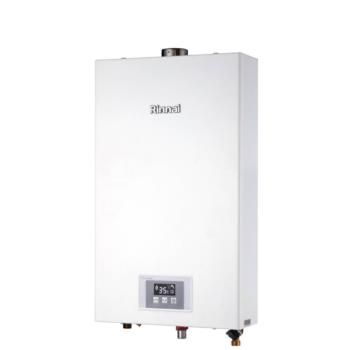 (全省安裝)林內12公升數位強制排氣熱水器天然氣(彰化以北)RUA-1200WF_NG1