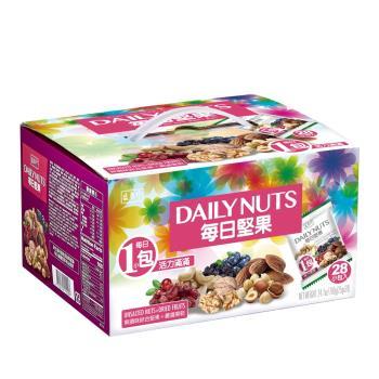 【盛香珍】每日堅果量販盒700g(28小包入)