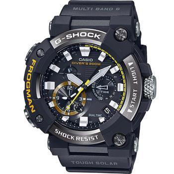 CASIO G-SHOCK FROGMAN蛙人200米潛水錶(GWF-A1000-1A)