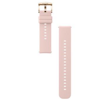 HUAWEI Watch GT2 42mm專用 原廠氟橡膠錶帶 - 粉色
