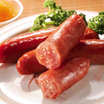 【黑橋牌】海洋鮮味香腸禮盒(飛魚卵香腸+章魚燒香腸),2盒/組