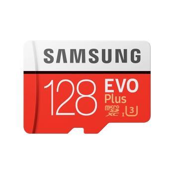 (公司貨) SAMSUNG 三星 EVO Plus microSDXC UHS-1(U1) Class10 128GB高速記憶卡 MB-MC128HA
