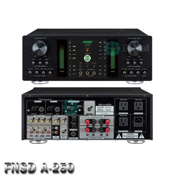 FNSD A-250 250W數位迴音卡拉OK綜合擴大機