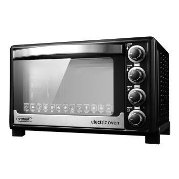 山崎 35L新式三溫控專業級電烤箱 SK-3580RHS+ (贈3D旋轉輪烤籠)