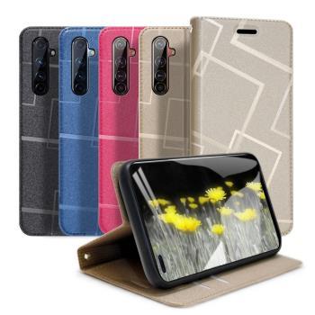 GENTEN for realme X50 Pro 極簡立方磁力手機皮套