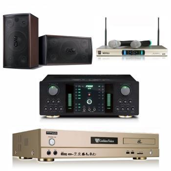 金嗓 CPX-900 EZ1 卡拉OK點歌機4TB+FNSD NO-1 擴大機+MR-300D IV 無線麥克風+FNSD SD-305 主喇叭