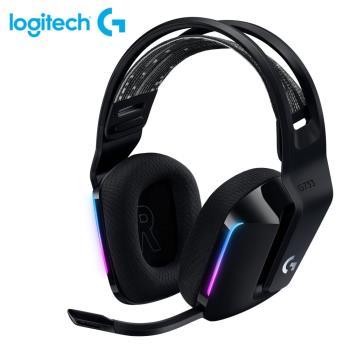 【Logitech 羅技】G733  RGB炫光無線電競耳機麥克風 黑