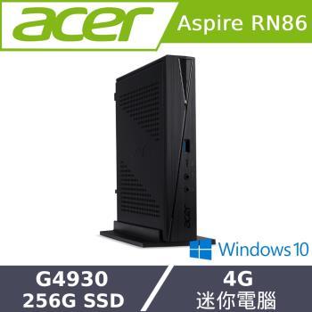 Acer宏碁 RN86 迷你電腦 G4930/4G/256G SSD/W10