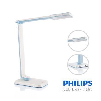 【飛利浦 PHILIPS LIGHTING】晶彥 71663 LED檯燈 - 柔光藍