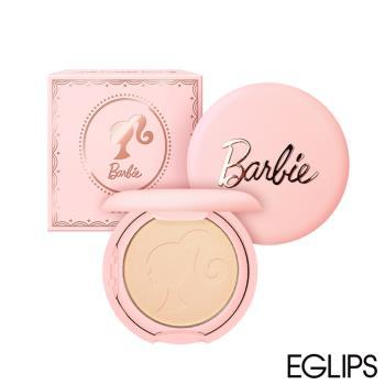 韓國 EGLIPS X BARBIE聯名限定款 強力遮瑕霧面粉餅 9g (2色任選)