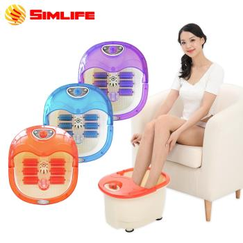 [SimLife]-陶瓷加熱高強功能SPA泡腳機(保固1個月)