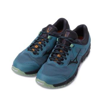 MIZUNO WAVE DAICHI 5 GORE-TEX 越野慢跑鞋 藍綠 J1GJ205616 男鞋