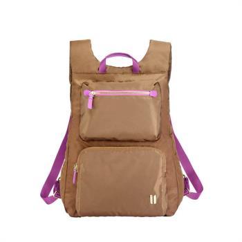 NOA-724TK SUMDEX 貼身輕巧薄型咖啡色後背包