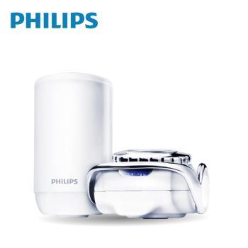 【PHILIPS飛利浦】超濾龍頭型4重複合濾芯淨水器 WP3834