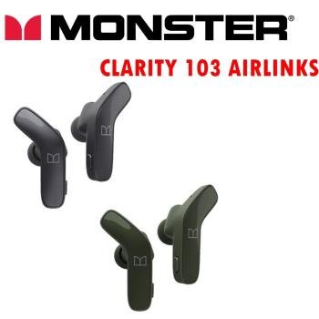 MONSTER CLARITY 103 AIRLINKS 真無線藍芽耳機