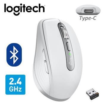 【Logitech 羅技】MX ANYWHERE 3 無線滑鼠 珍珠白