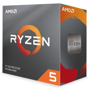 AMD Ryzen 5-3600 3.6GHz 六核心處理器 R5-3600 (內含風扇)