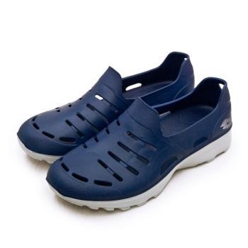 LOTTO 晴雨穿搭戶外休閒運動涼鞋 ROSSA系列 藍灰 2336 男
