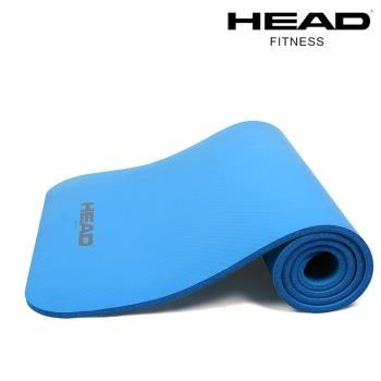 HEAD海德 專業瑜珈墊/運動墊(藍)-10mm