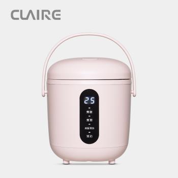 CLAIRE  Mini Cooker 電子鍋CKS-B030P  蜜桃粉