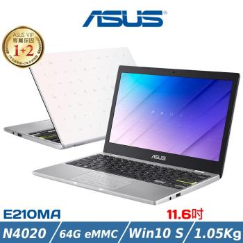 ASUS華碩 Laptop E210MA-0021WN4020 平價筆電 11.6吋/N4020/4G/64G eMMC/WIN10S