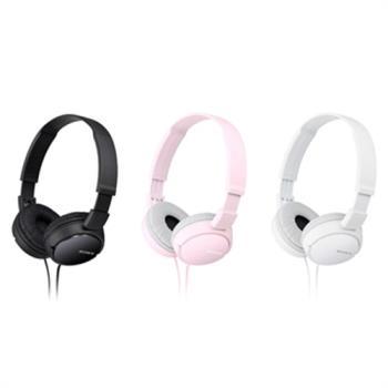 【送絨布套】SONY MDR-ZX110AP 簡約摺疊 耳罩式耳機 線控通話【共3色】