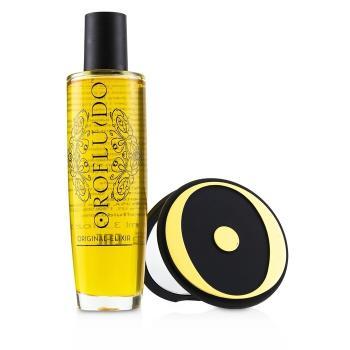 黃金密碼美髮修護精華限量版套裝:美髮修護精華100ml+鏡2pcs