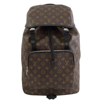 Louis Vuitton LV M43422 ZACK Monogram 經典花紋拼接後背包
