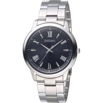 SEIKO 精工 SPIRIT 簡單美學太陽能腕錶(V131-0AG0D)SBPL011J/黑38.8mm