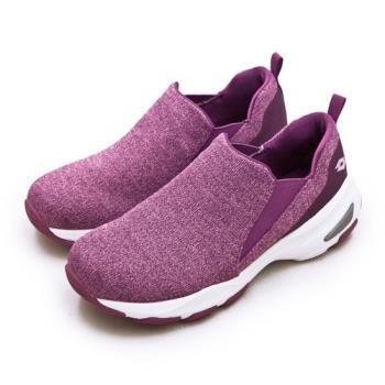 【LOTTO】女 增高厚底美型輕便健走鞋 EASY WEAR 系列(桃紫 1237)