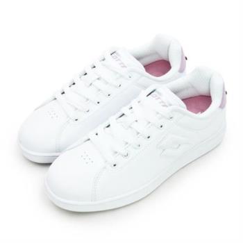 【LOTTO】女 LOTTO 經典復古網球鞋 1973 INSPIRED 系列(白粉 6733)