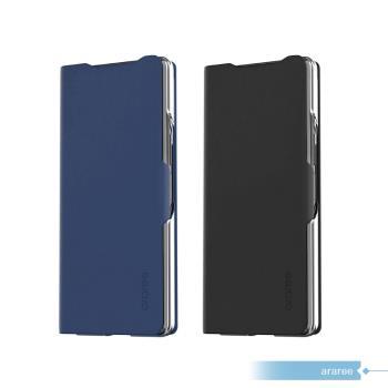 【araree】SAMSUNG GALAXY Z Fold2 / Z Fold2 5G專用 翻頁式皮套 (盒裝)