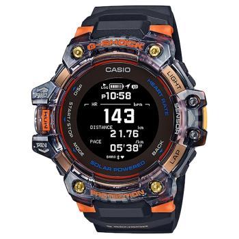CASIO G-SHOCK GBD-H1000-1A4 太陽能心率偵測與GPS衛星定位腕錶