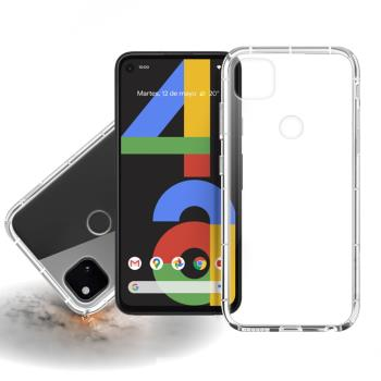 Xmart for Google Pixel 4A 加強四角防護防摔空壓氣墊殼