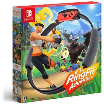【Nintendo 任天堂】Switch 健身環大冒險(台灣公司貨中文版)