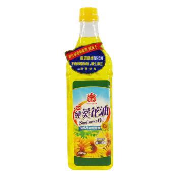 【義美】100%純葵花油1L