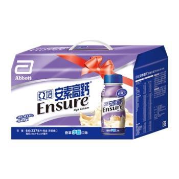 亞培 安素高鈣鈣強化配方6入禮盒-香草少甜口味(237MLx6入)x2