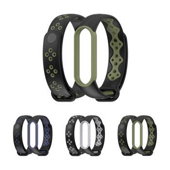 mijobs 小米手環 5/小米手環 6 運動腕帶