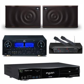 音圓 S-2001 N2-550點歌機4TB+FPRO RV-9+CHIAYO NDR-2120+JBL MK10