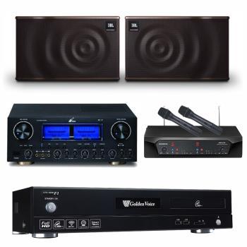 金嗓 CPX-900 F1 點歌機4TB+FPRO RV-9+CHIAYO NDR-2120+JBL MK10